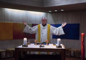 Br. Josef Haselbach war früher Guardian in Rapperswil. Heute im Kloster Wil.