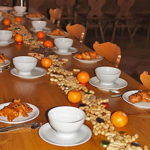 Zu einem besonderen Tag gehört eine spezielle Tischkultur.