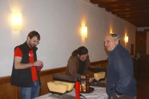 der Raclette-Stand
