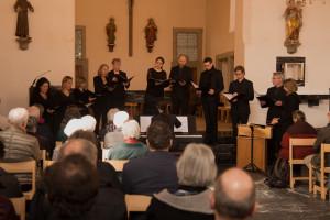 Die Gruppe Elements umrahmen die Karfreitags-Liturgie musikalisch