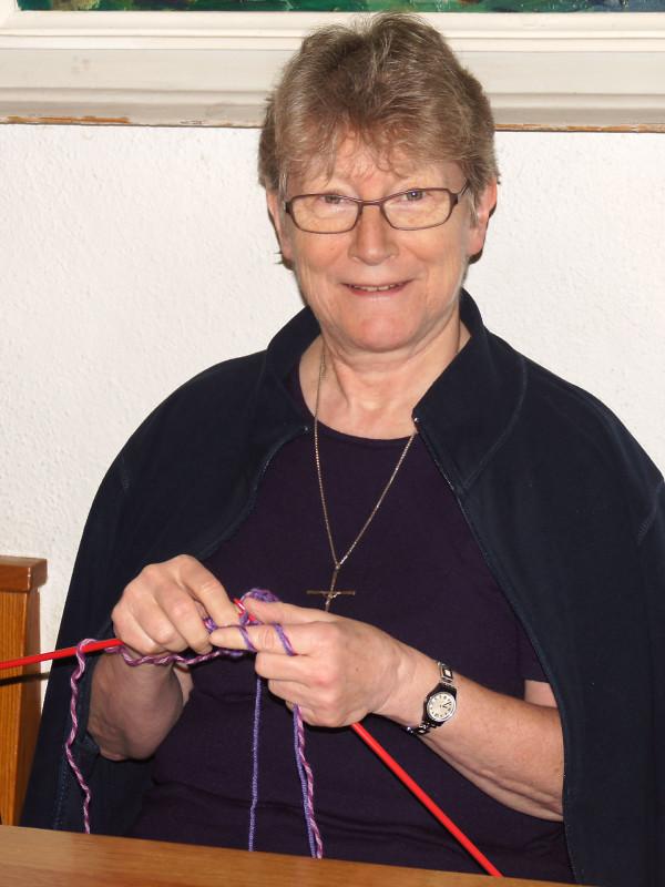 Sr. Rosmarie Sieber, Verbindungsfrau vom Kloster