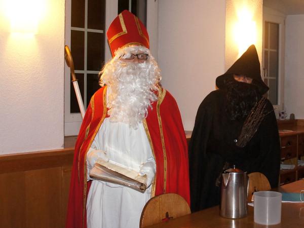 Ein Nikolaus kommt selten alleine!