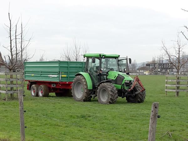 Doch die Bauern sind schon in den Startlöchern – bald geht's los