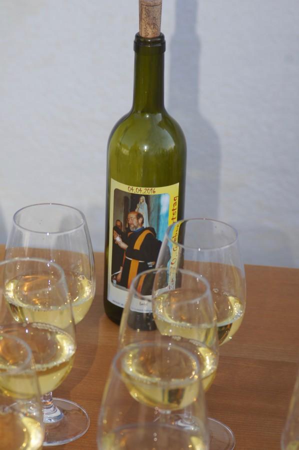 Selten feine Weine haben Gäste vom Fach mitgebracht.