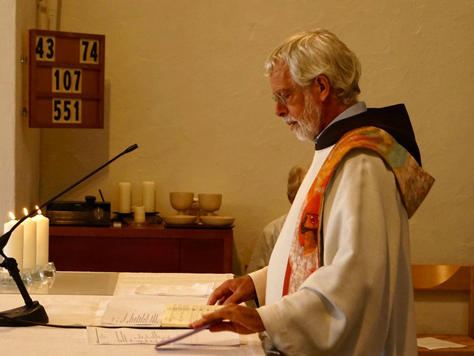 Selbst bei seinem Dienst am Altar war ihm das Thema Gerechtigkeit stets sehr präsent.