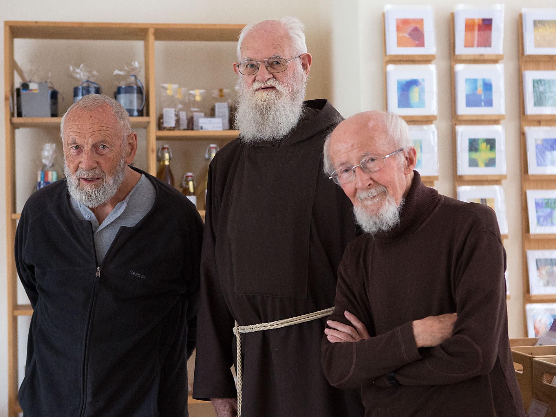 Im Herbst 2016 zog Br. Eckehard Strobl mit den Brüdern Adjut Mathis und Josef Hangartner nach Wil ins Alterskloster.